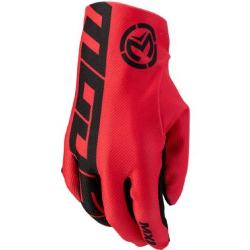 Moose Racing S20 MX2 Motorbike Motorcycle Offroad MX Gloves Red - Large